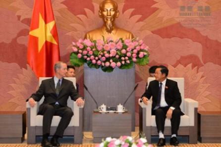 Impulsan la asociación parlamentaria entre Vietnam y Estados Unidos  - ảnh 1