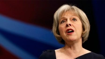 Primera ministra del Reino Unido insta a Qatar, Arabia Saudita y Bahrein a aliviar tensiones - ảnh 1