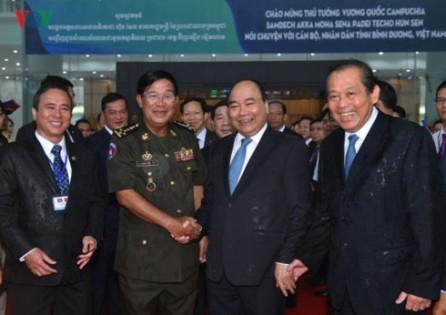 Vietnam y Camboya fortalecen las relaciones de cooperación multifacética - ảnh 1