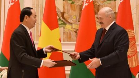 Vietnam y Bielorrusia ratifican voluntad de afianzar relaciones  - ảnh 1