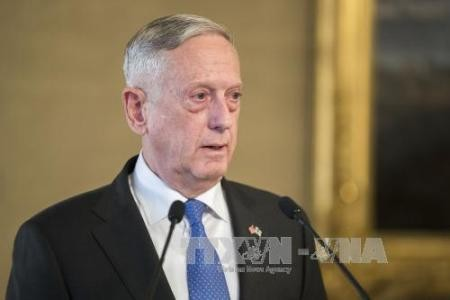 El jefe del Pentágono subraya la vía diplomática en la solución de la crisis de Corea del Norte - ảnh 1