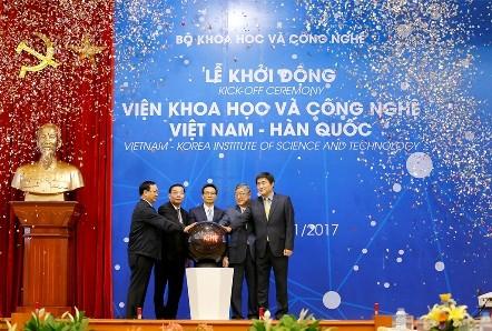 Inauguran el Instituto de Ciencia y Tecnología Vietnam-Corea del Sur  - ảnh 1