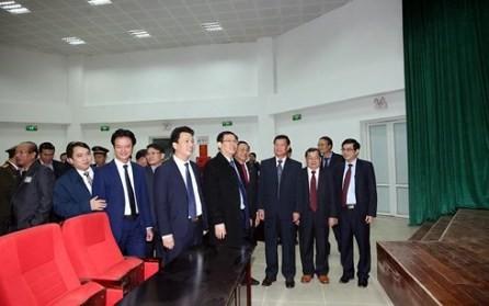 Inauguran la Casa conjugada de la puerta fronteriza internacional de Cau Treo-Quoc Mon en Ha Tinh  - ảnh 1