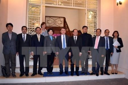 Ciudad Ho Chi Minh y Corea del Sur fomentan la cooperación educativa - ảnh 1