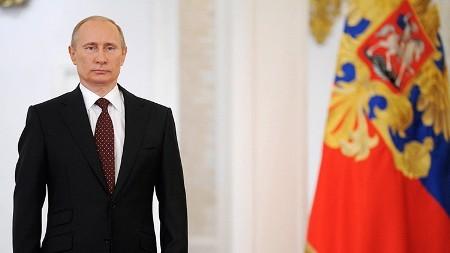 Vladímir Putin anuncia su candidatura presidencial 2018  - ảnh 1