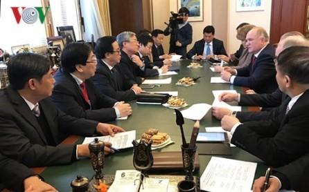 Vietnam aprecia la asociación integral con Rusia  - ảnh 1