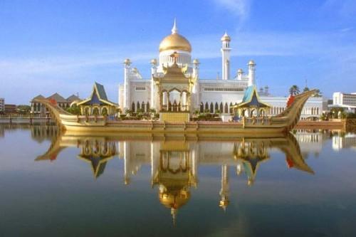 Kampung  terapung Kampong Ayer- Brunei Darusalam. - ảnh 3