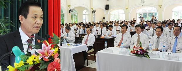 Pengambilan surat kepercayaan  pada persidangan ke-7 Dewan Rakyat kota Da Nang. - ảnh 1