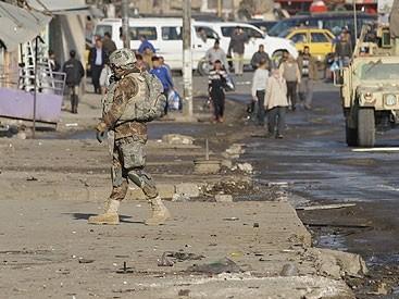 Kaum pembangkang melakukan serangan terhadap rumah penjara di Bagdad - ảnh 1