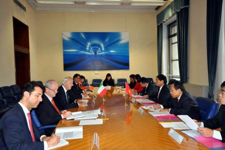 Dialog strategis pertama Vietnam-Italia - ảnh 1