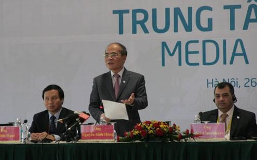 IPU-132  mencapai sukses baik dengan pengeluaran Pernyataan  Hanoi - ảnh 1