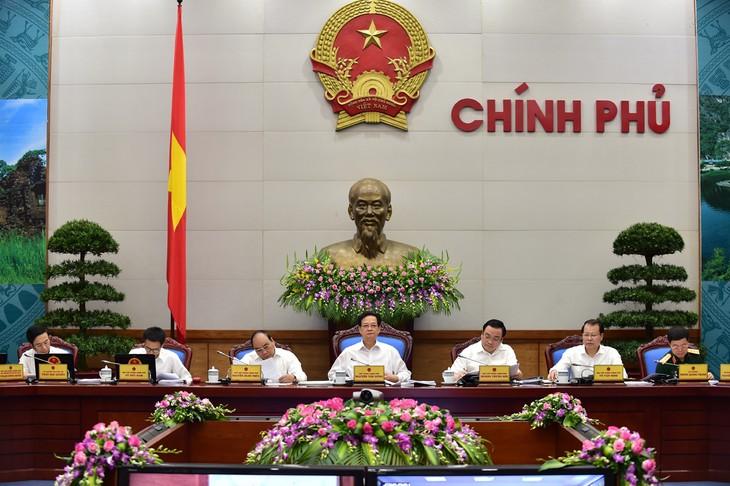 Pembukaan Sidang periodik Pemerintah Vietnam  bulan Juni 2015 - ảnh 1