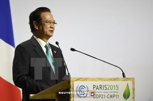 Tahun 2016:Vietnam melaksanakan secara sinkron solusi menghadapi perubahan iklim - ảnh 1