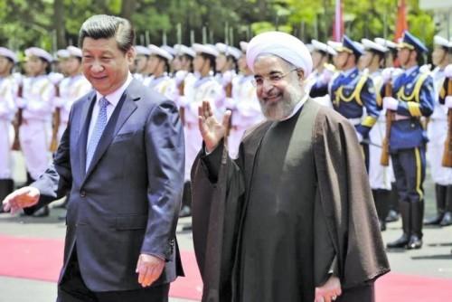Presiden Tiongkok memulai kunjungan kenegaraan ke Iran - ảnh 1