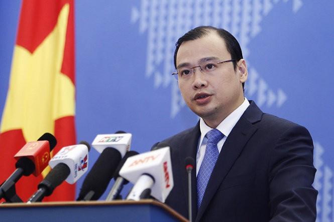 Vietnam memprotes kedatangan pemimpin Taiwan di pulau  Ba Binh, kepulauan Truong Sa, wilayah Vietnam - ảnh 1