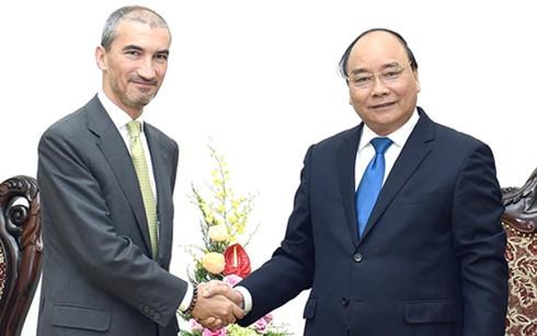 PM Vietnam, Nguyen Xuan Phuc menerima Dubes Portugal dan Serbia - ảnh 1