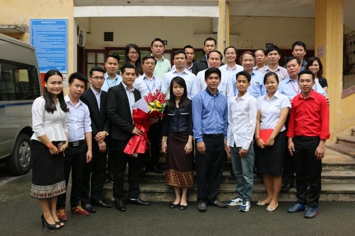 Menciptakan syarat yang kondusif  bagi mahasiswa Kamboja yang sedang menempuh kuliah di Vietnam - ảnh 1