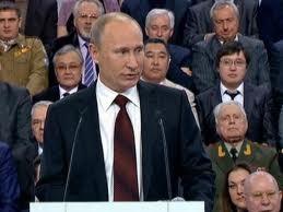 ປະທານາທິບໍດີ V.Putin ຮັບໄຊຊະນະໃນການ ເລືອກຕັ້ງປະທານາທິບໍດີ ລັດເຊຍ  - ảnh 1
