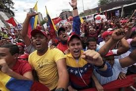 ການເດິນຂະບວນສະໜັບສະໜູນ ປະທານາທິບໍດີ Venezuela - ảnh 1