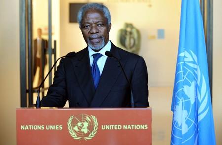 ພາລະກຳຂອງທູດພິເສດ Kofi Annan ແມ່ນ ກາລະໂອກາດສຸດທ້າຍ ໃຫ້ຊີຣີ - ảnh 1