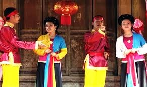 ການສະແດງຂັບ Xoan ບູຮານຢູ່ແຂວງ Phu Tho - ảnh 1