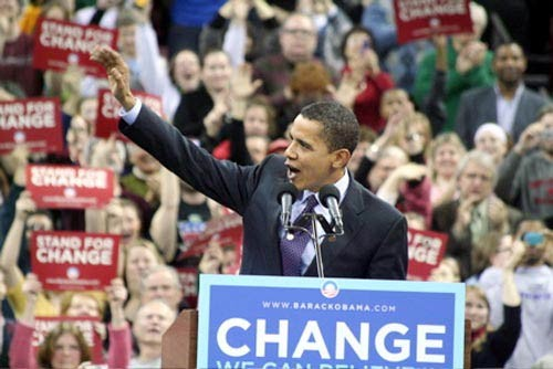 ປະທານາທິບໍດີ Barack Obama ໝັ້ນໝາຍນຳສະຫະລັດ ອາເມລິກາ ກ້າວຂຶ້ນ - ảnh 1