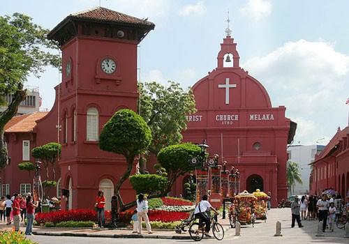 ໄປຢ້ຽມຢາມຄຸ້ມເມືອງເກົ່າ Malacca - ảnh 1