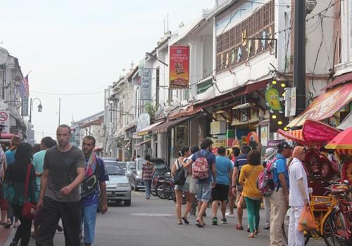 ໄປຢ້ຽມຢາມຄຸ້ມເມືອງເກົ່າ Malacca - ảnh 2