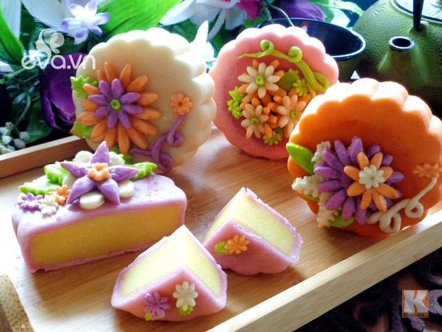Vietnamese Traditional Snow Skin Mooncake - ảnh 5