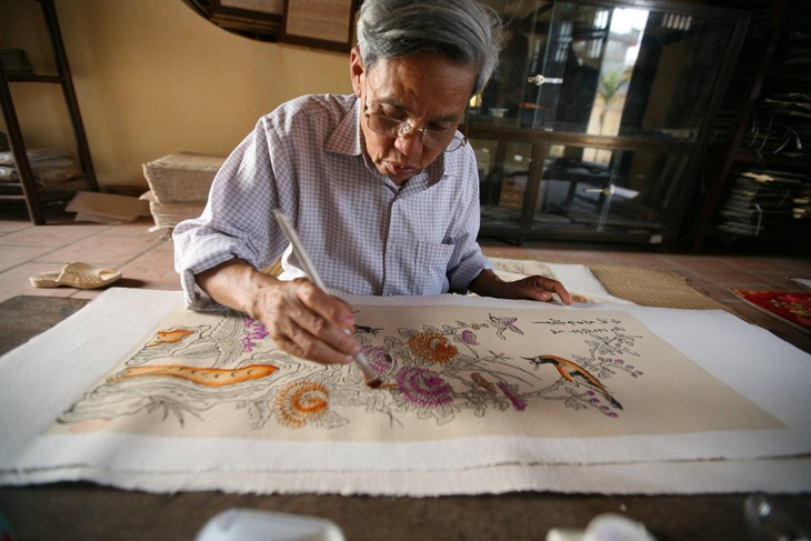 Vietnamese traditional folk painting and its preservation - ảnh 4