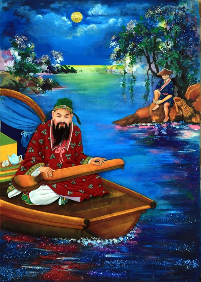 Vietnamese traditional folk painting and its preservation - ảnh 6