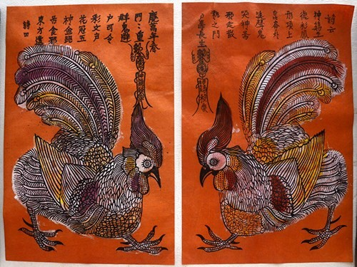 Vietnamese traditional folk painting and its preservation - ảnh 2