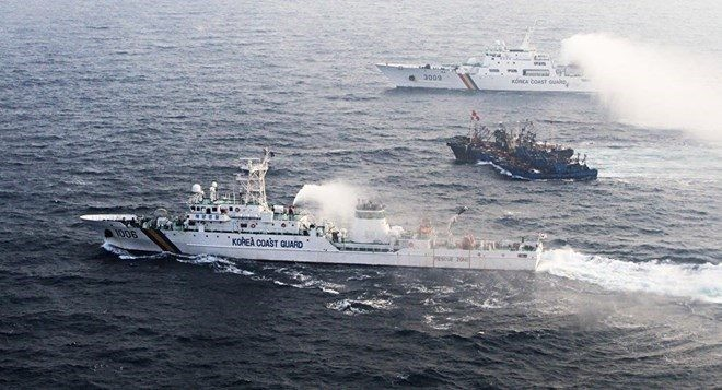 South Korea summons Chinese official over sinking of Coast Guard boat - ảnh 1