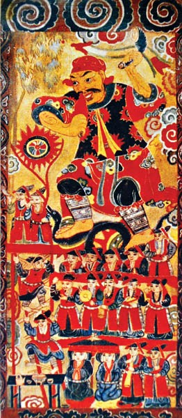 Worship paintings of Vietnam's northern ethnic groups - ảnh 6