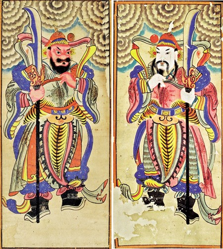 Worship paintings of Vietnam's northern ethnic groups - ảnh 2