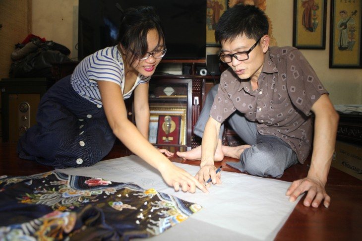 Vietnamese Royal Embroidery - From past to present - ảnh 6