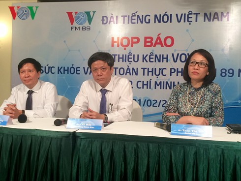 VOV launches Health and Food Safety Channel - ảnh 1