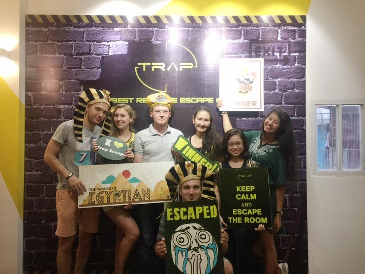 Real Life Escape game, a new trend in Hanoi - ảnh 3