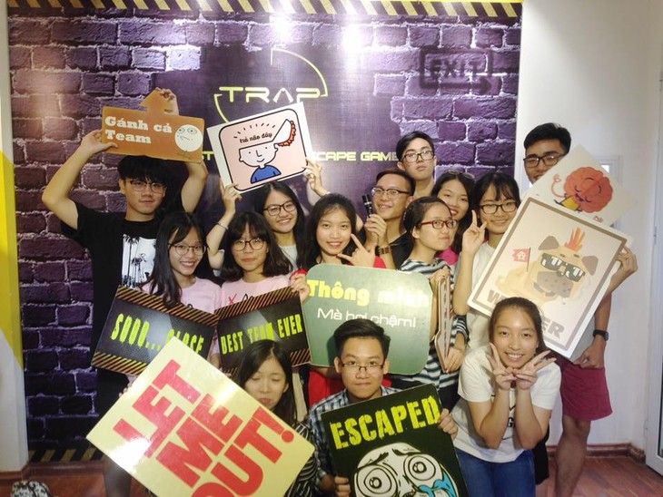 Real Life Escape game, a new trend in Hanoi - ảnh 4