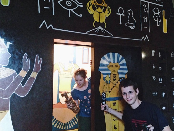 Real Life Escape game, a new trend in Hanoi - ảnh 1