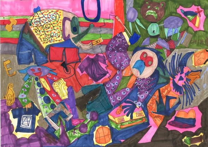 IU.IU.IU Exhibit- Life through the eyes of artists with autism - ảnh 5