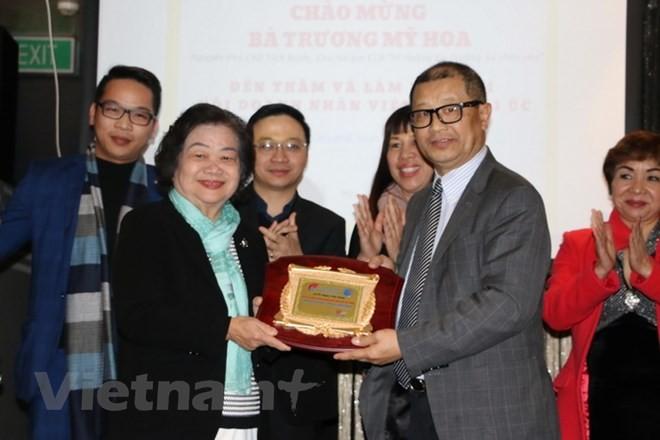 Vietnamese in Australia commemorate Gac Ma battle - ảnh 1