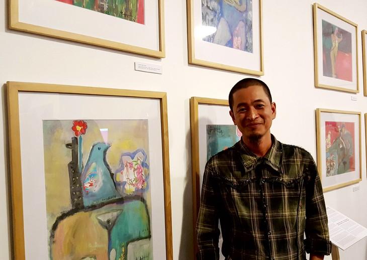 Pintor cubano René Mederos y su amor por Vietnam - ảnh 4