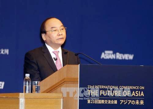 Primer ministro de Vietnam resalta protagonismo de Asia en la globalización  - ảnh 1
