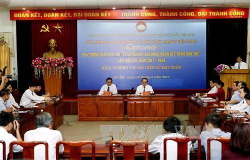 Vietnam refuerza la unidad nacional en concurso periodístico  - ảnh 1