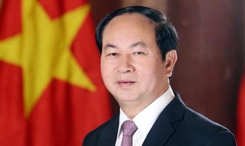 Presidente de Vietnam inicia su visita oficial a Rusia - ảnh 1