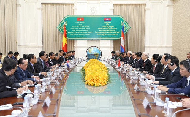 Vietnam y Camboya abogan por impulsar la cooperación entre localidades - ảnh 1