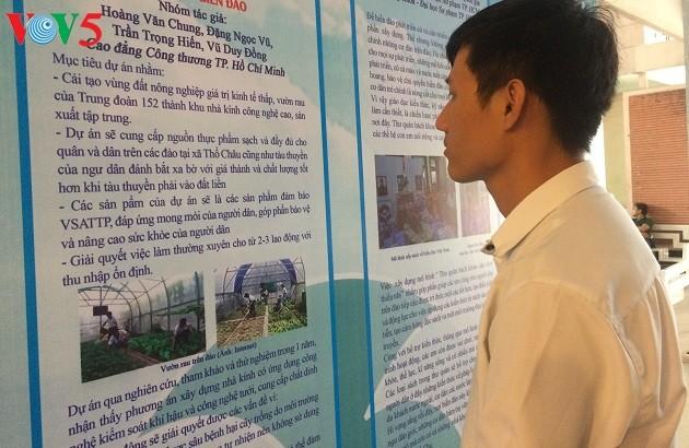 Modelo de huerto que mejora la vida de compatriotas en las islas - ảnh 1