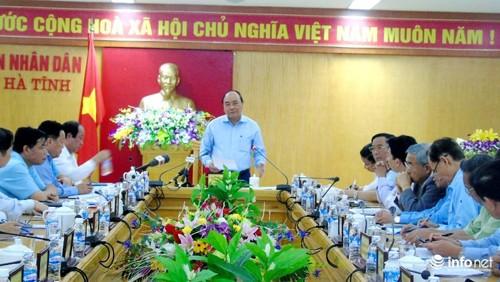 Vietnam se esfuerza para convertir a Ha Tinh en un centro industrial de la zona central - ảnh 1