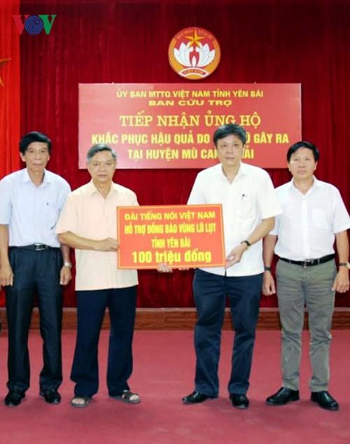 Vietnam aúna esfuerzos para ayudar a las víctimas de las inundaciones en la región del noreste - ảnh 1